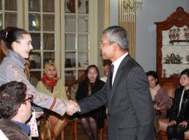 Event Greeter at the Embassy of Indonesia