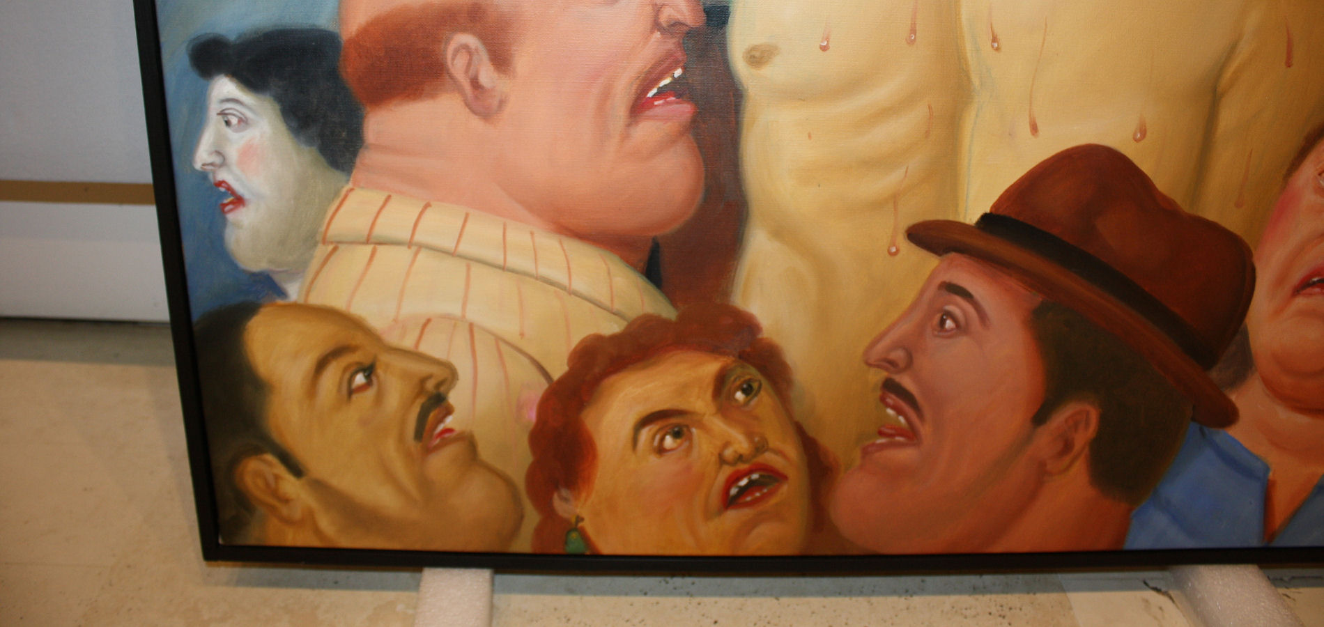Making of Fernando Botero - Via Crucis