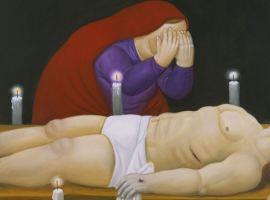 Fernando Botero - Via Crucis - Cristo ha Muerto