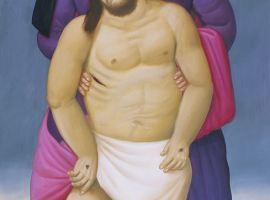 Fernando Botero - Via Crucis - Maria y Jesus Muerto