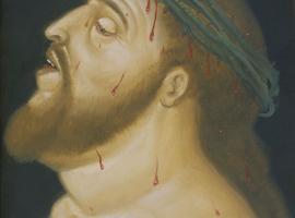 Fernando Botero - Via Crucis - Cabeza de Cristo