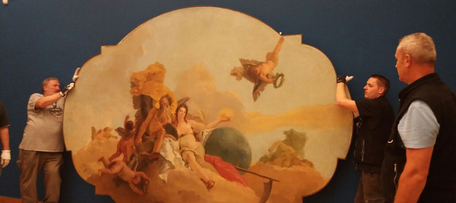 Making of Tiepolo e i contemporanei