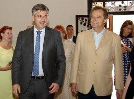 Primo Ministro Andrej Plenković, Miroslav Gašparović