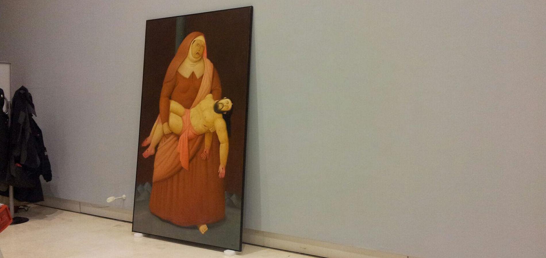Making of Fernando Botero - Via Crucis