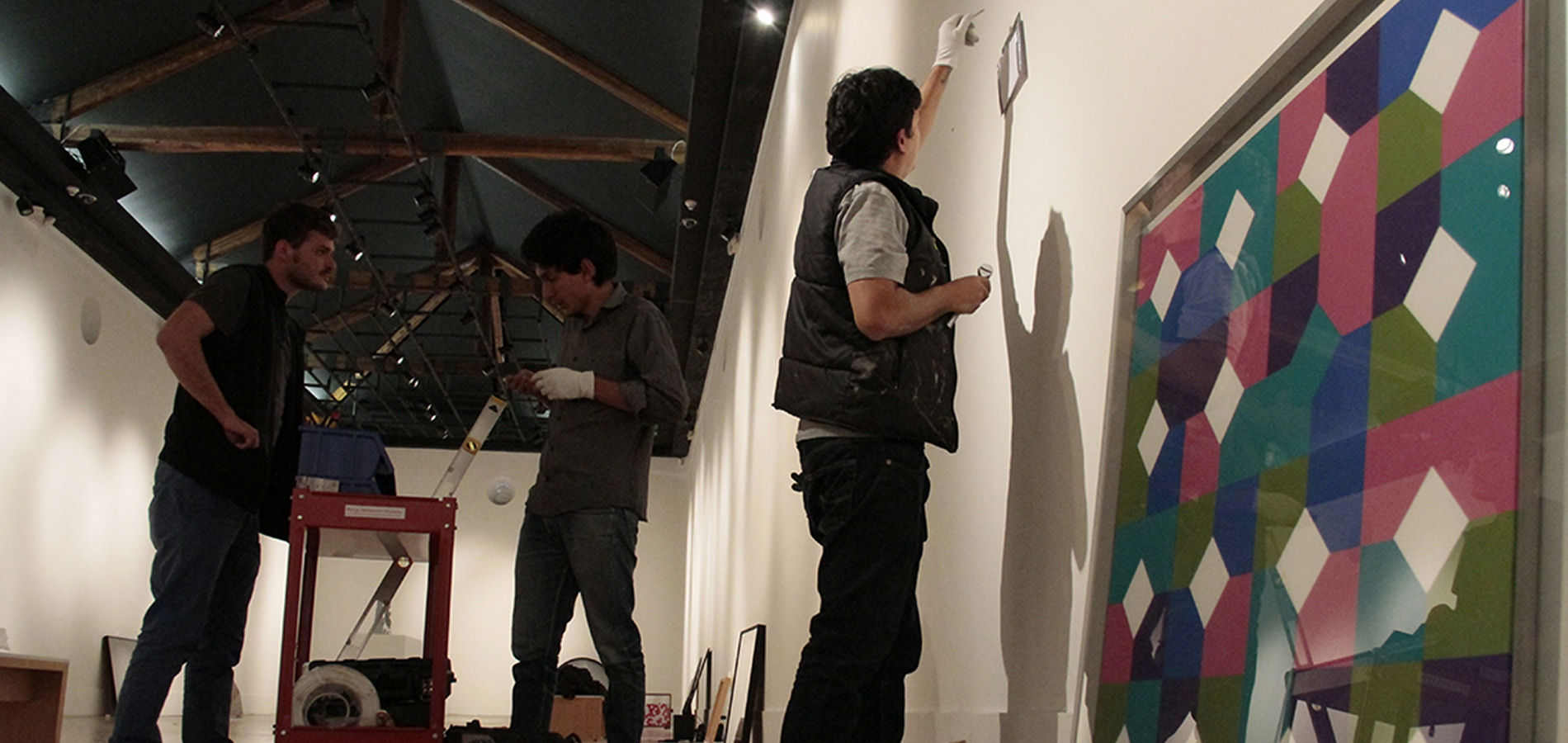 Making of Occhio Mobile - Quito