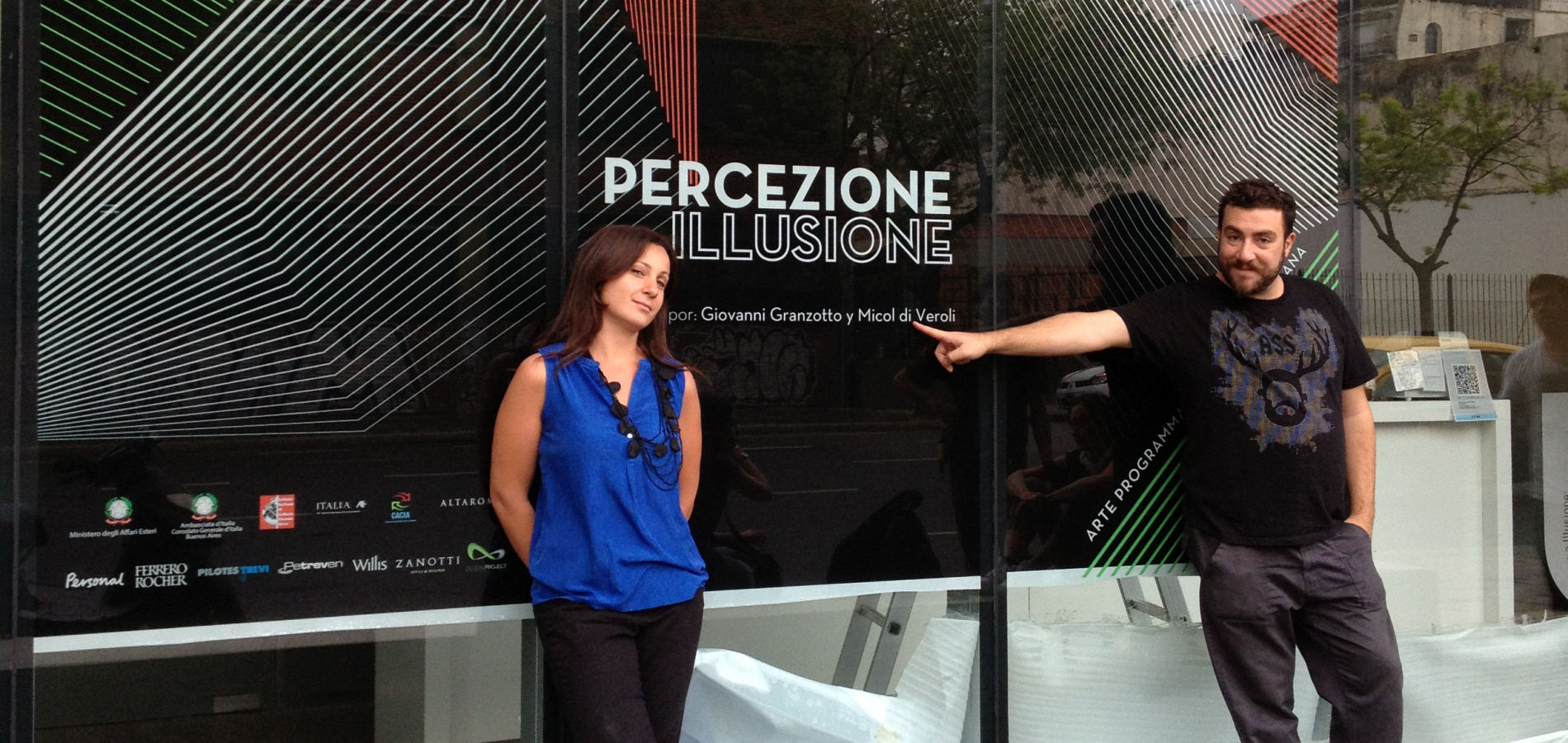 Making of Percezione e Illusione