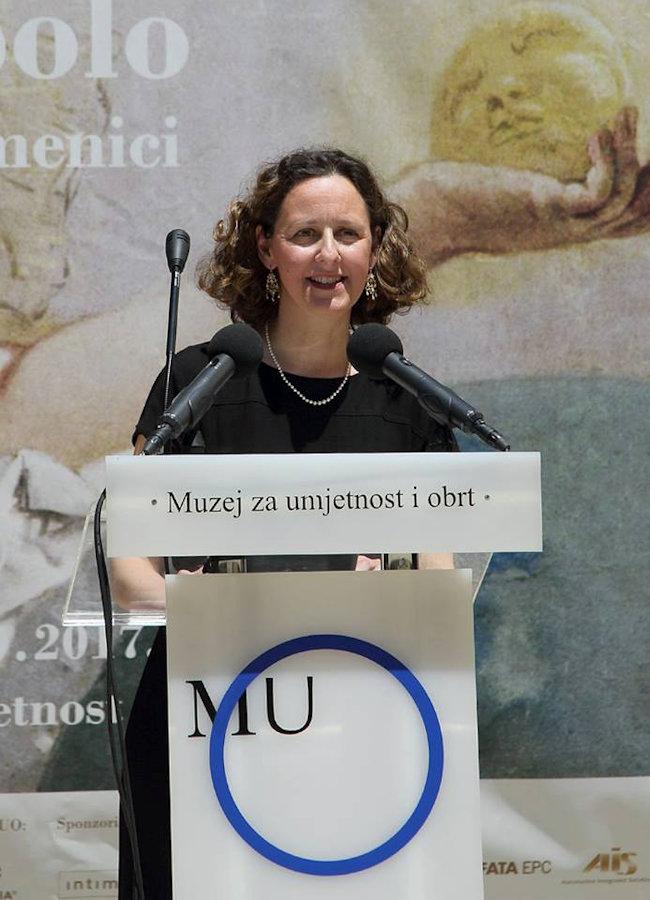 Minister of Culture Nina Obuljen Koržinek