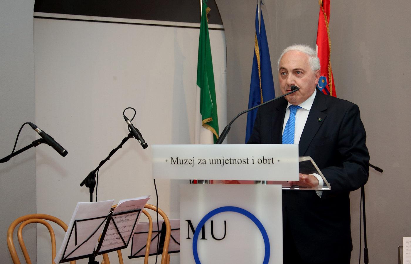 Italian Ambassador Adriano Chiodi Cianfarani