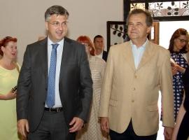 Prime Minister Andrej Plenković, Miroslav Gašparović