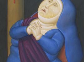 Fernando Botero - Via Crucis - Madre Afligida