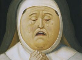 Fernando Botero - Via Crucis - Madre de Cristo