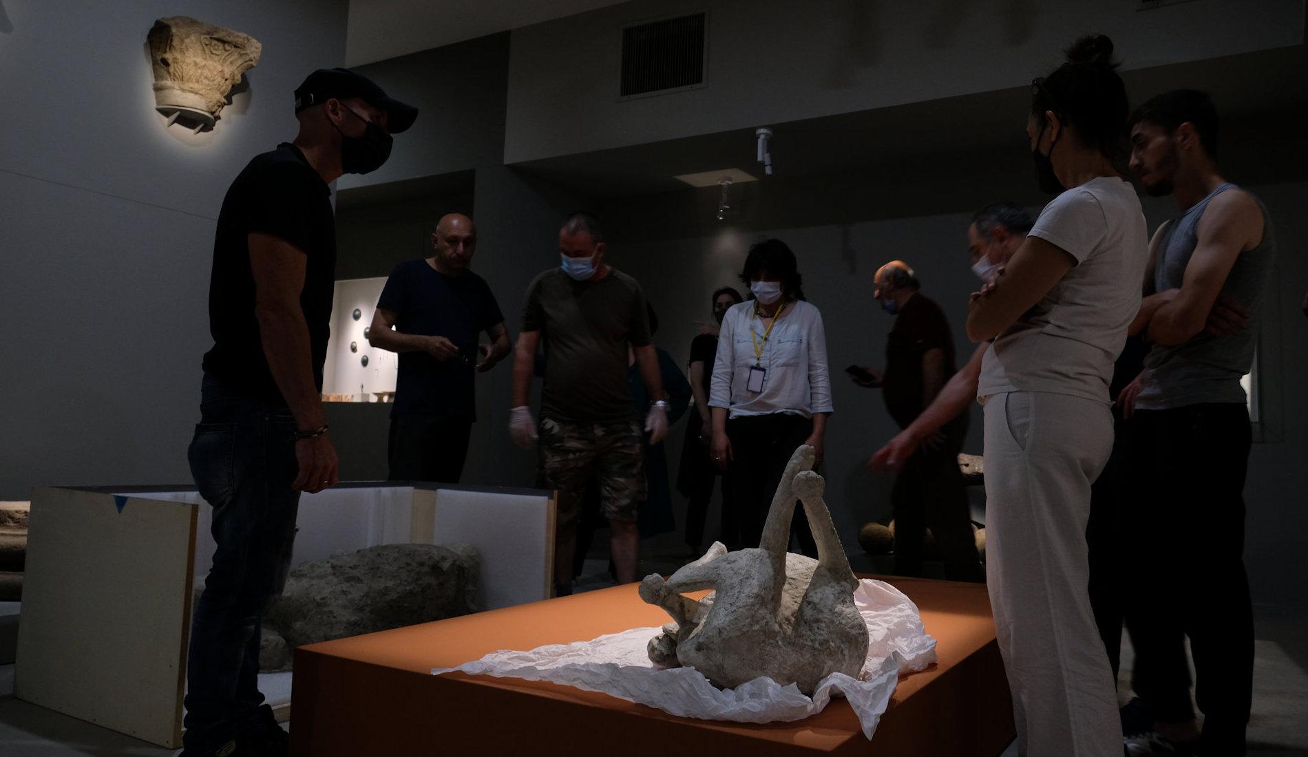 Making of Glory of Pompeii