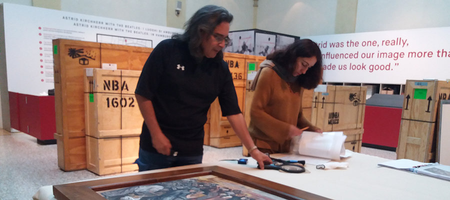 Making of México-The Pending Exhibition